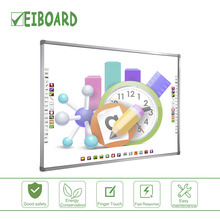 China factory making multi finger touch school interactive smart touch board