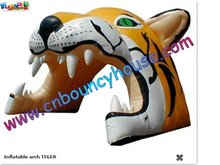 2011 attractive inflatable arch,Inflatable Tiger Archway