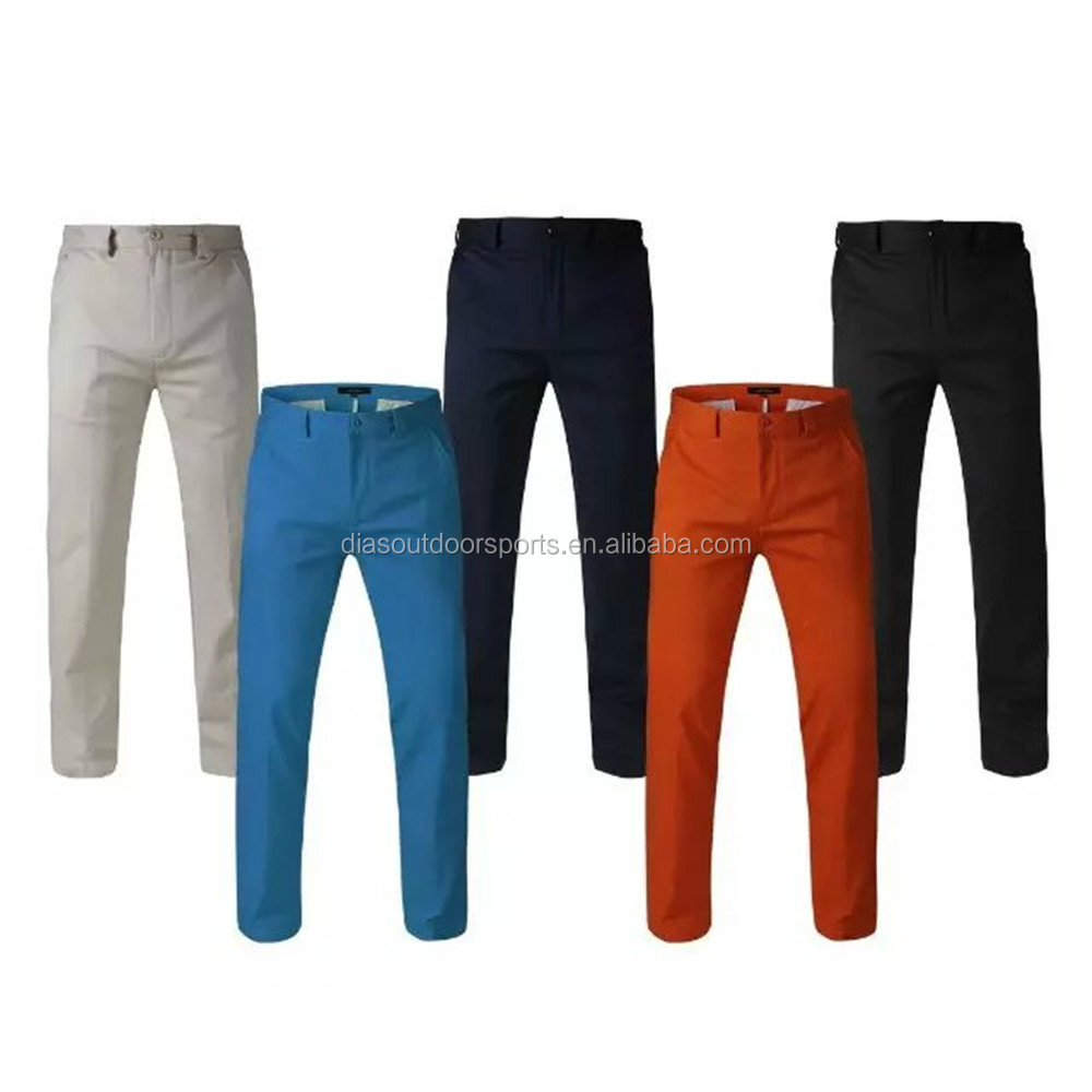 golf trousers for men stretch comfortable