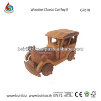 Wooden Classic Car Toy B