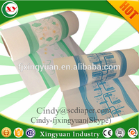 Disposable diaper breathable Polyethylene film for lamination