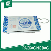 2015 NEW DESIGN RECYCLED PAPER PACKAGING BAGS FOR SHOPPING