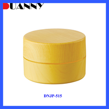 100g 160g 210g Small Plastic Wood Cosmetic Cream Container for Skin Care