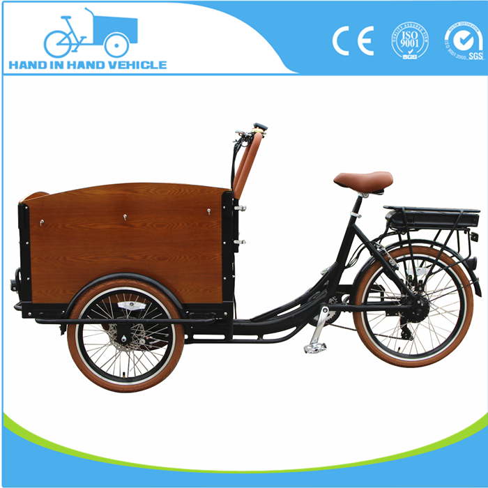 Shimano 6 speed electric cargo tricycle used for passenger