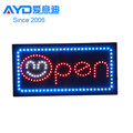 Dongguan LED Window Signboard LED Open Sign with Smiling Face Picture