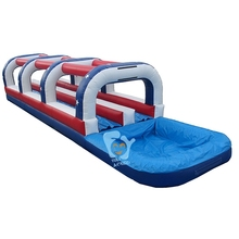 pvc tarpaulin high quality giant inflatable water slide for sale