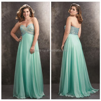 Fashion beaded evening dress, real sample evening dress, evening dress alibaba china