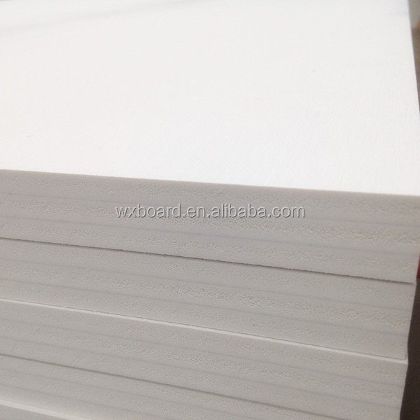 Eco-friendly 4~25mm PVC Foam Board sheet 4x8 Kitchen wash table-board