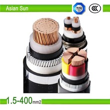 CU/XLPE /PVC Insulated Power Cable 0.6/1kV SWA Steel Wire Armored Cable