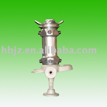 stainless steel aamputees artificial leg (stump too long)