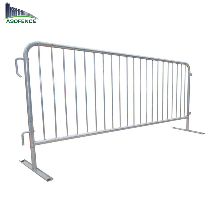 New design galvanized Crowd Control Barriers/used barricades for sale