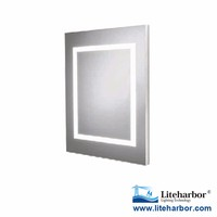 CE Listed 4W 6W 8W IP44 Waterproof Indoor LED Vanity Dressing Room Makeup Mirror with Light