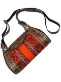 Peruvian bags model Inca culture