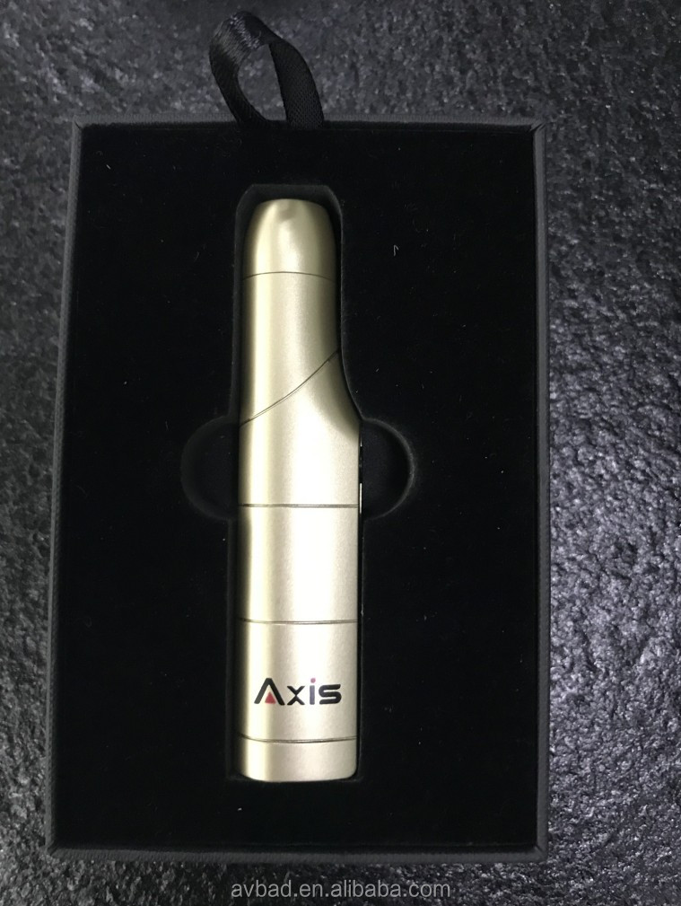 Electronic cigarette dry vaporizer 900mah Axis VCT company not burn device