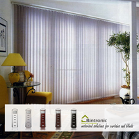 Bintronic Electric Curtains System Manufacturer Motorized Vertical Blinds Different Styles of Curtains