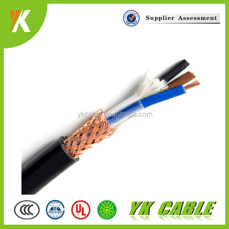 Electrical braid shielding 1.5mm2 2.5mm2 2mm copper wire