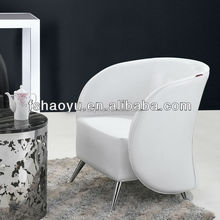 white leather CLUB CHAIR, PVC chair,hotel chair