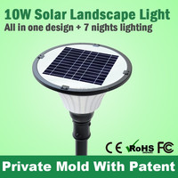 New 12W Ip68 Led Outdoor All In One Solar Lamp Street