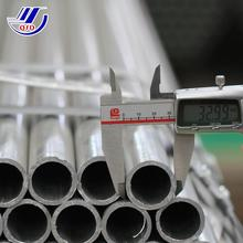 q235 tube powder coated light weight galvanized steel pipe