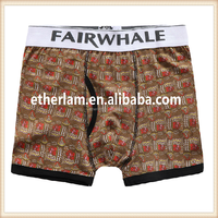 Custom Young Style Mens Boxer Shorts Underwear Free Sample Men Underwear