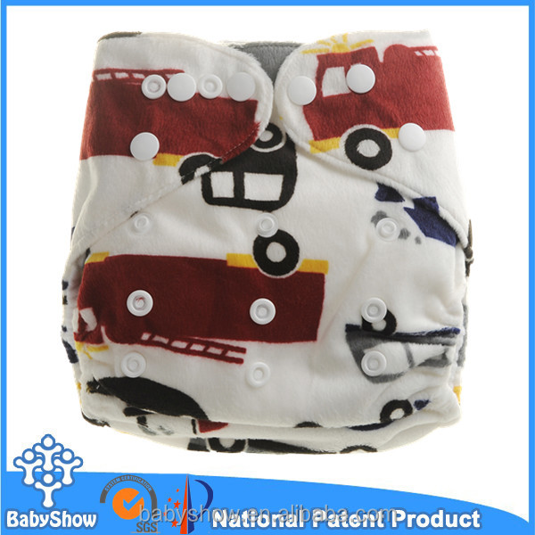 Babyshow reusable and washable high quality factory distributor cloth nappy brand baby diapers