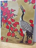 hand painted art ceramic tile