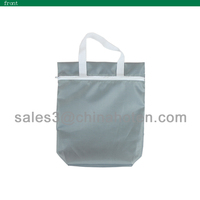 190T polyester mesh tote promotional bags