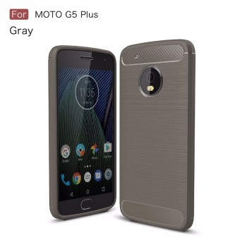 Newest cover for Moto G5 plus carbon fiber case