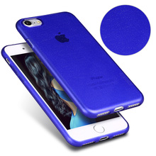 [X-Level] 2017 Starry Soft TPU Blu Cell Phone Case for iPhone 7