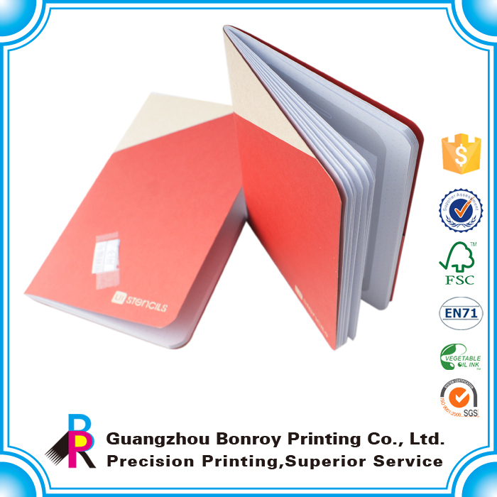 OEM Printing Design Paper Cheap Small School Kids Notebook