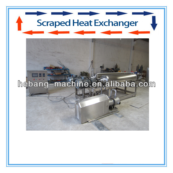 heat exchanger with air compressor