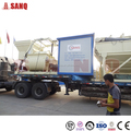 HZS50 Harga concrete batching plant baru hot sale in Indonesia