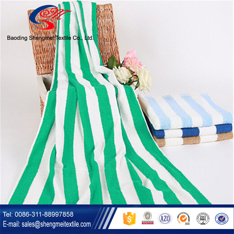 100% Cotton Luxury Bath Towel with Striped Designs on Clearance Bulk