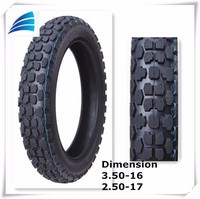 China motorcycle spare parts for Motorcycle Parts tire Rubber off Road Tyre 3.00-17, 350-16, 3.00-18