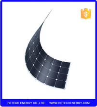 Frameless solar cell flex panel 115watt 12V for marine from china photovoltaic pv suppliers