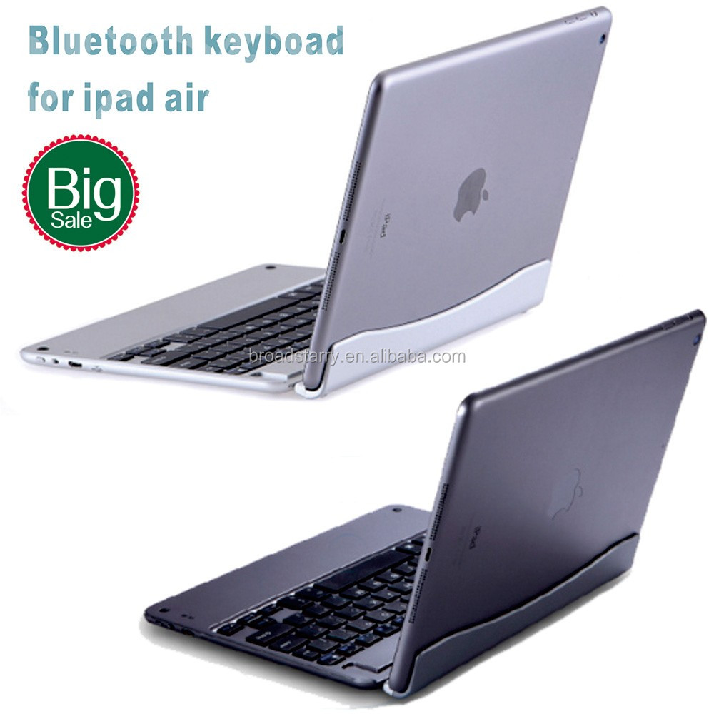 New Metal Aluminum Wireless Bluetooth Keyboard for Apple iPad Air iapd 5