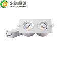 isolation install cob 18watt dimmable 2700k 4000k 5000k gyro downlight in 5years warranty dim by ELKO 315