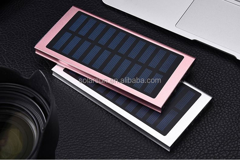 High capacity 12000mah capacity 18650 battery mobile solar charger with LED Light pokemon ball power bank