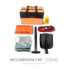 CT20345 Hot Selling Snow and Enjoy Winter Car Emergency Tool Kit for Roadside Emergency Kit and Auto Emergency Kit