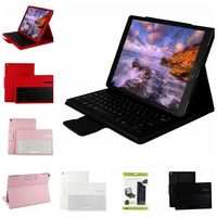 Permium PU Leather Bluetooth Removable Keyboard Case Cover for IPAD PRO 12.9