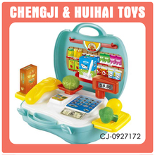 mini cash counter kids play house supermarket cash register toy