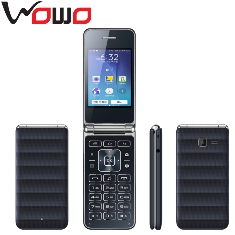 New Product Flip Mobile Phone G150 With Spreadtrum 6531 32+32MB Memory Dual Sim Quad band Cellphone
