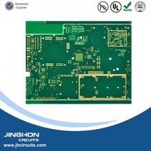 Multilayer pcb 6-layer electronic pcb board, professional FR-4 plated gold pcb circuit board manufacturer