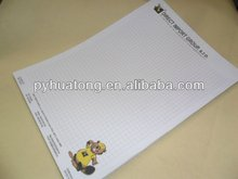 A4 lined writing paper/letter pad/letter head