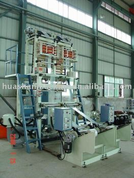 Double head Huashan Plastic Film Machine with Corona