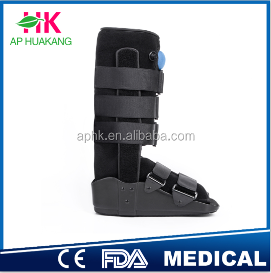 Lightweight Construction fracture walker brace,aircast walking boot,ankle support brace