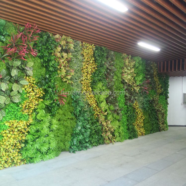 Artificial vertical grass wall backdrop decoration