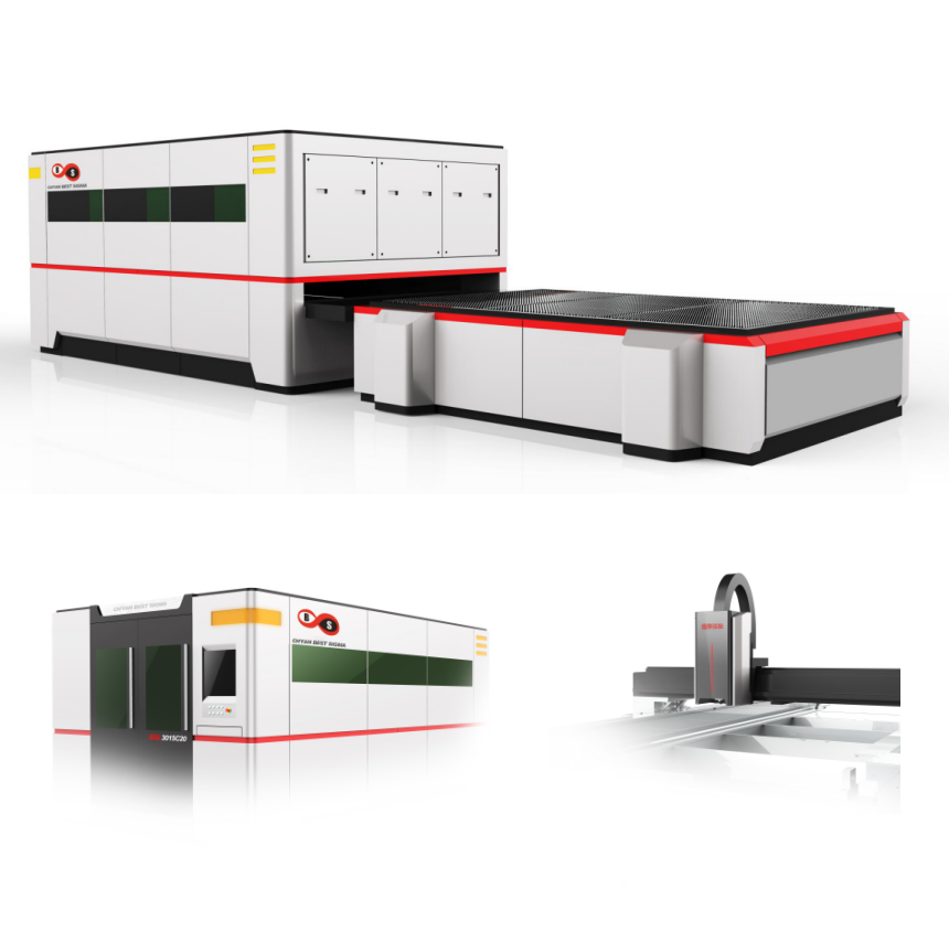 Small tubular products laser cutting machine / sheet laser cutting machine