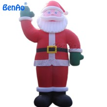 X078 inflatable christmas model,outdoor inflatable christmas products,inflatable standing christmas santa