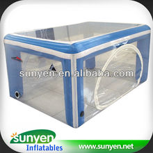 Hot Sale Cube Transparent Display Tent for Sale